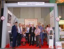 "The participation of the Association ""Center Stone"" in the exhibition MARMOMACC 2013, Verona, Italy"